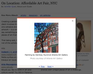 denitza - Arteria Gallery - article